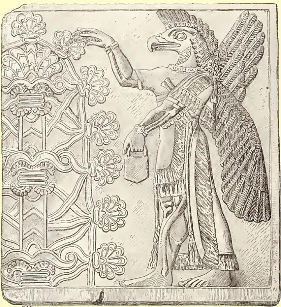 Mesopotamie-Dieu-Tete-Aigle