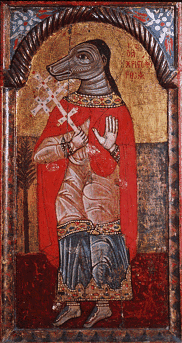 Saint-christophe cynocephalus
