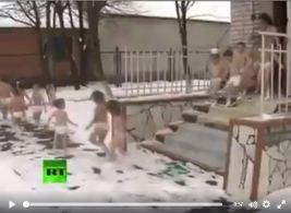 Enfants neige