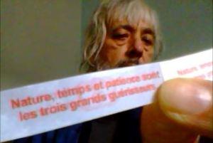 Deux messages synchroniques retrouvés par Cloé dans les biscuits chinois à deux ans d'intervalle